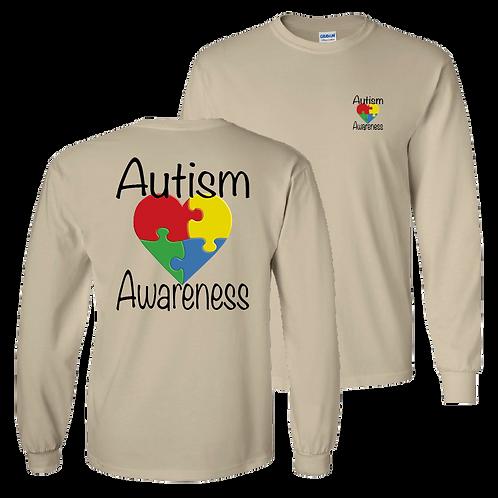 Autism Awareness long sleeve shirt - choose from 5 colors!