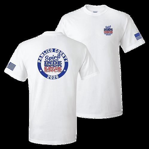 Pamlico County Spirit of Independence 2020 shirt