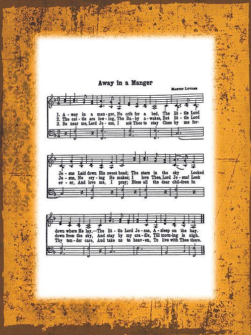 My Favorite Hymn - GOLD border
