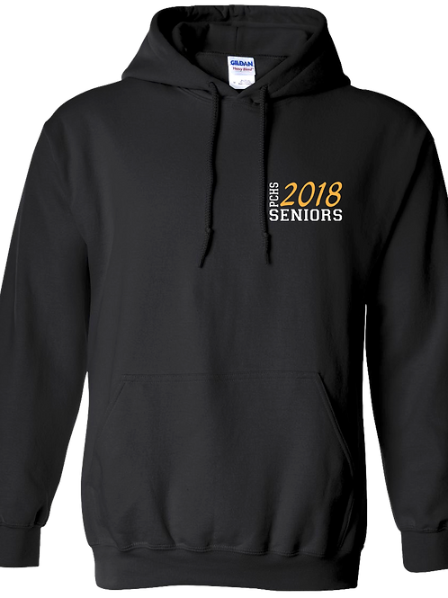 PCHS Class of 2018 Black Hoodie