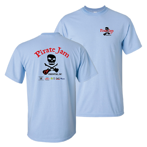 Pirate Jam 1.9 short sleeve shirt - ladies - new design