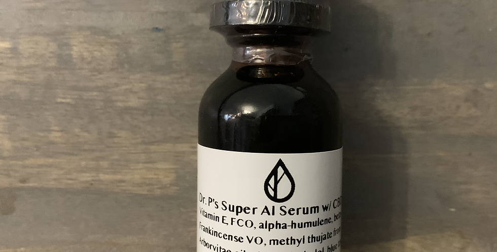 Dr. P's SUPER AI SERUM + CBD (30 ml)