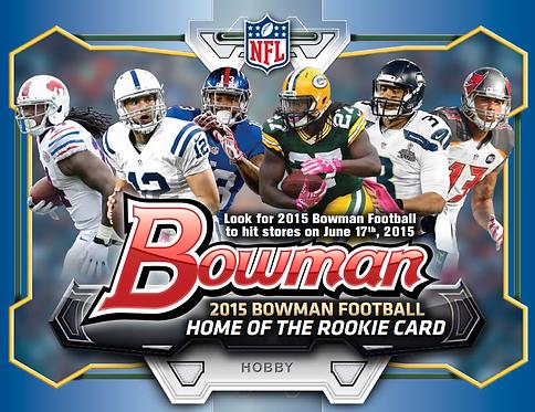 2015 Bowman Football Random Team - 10X Case Break