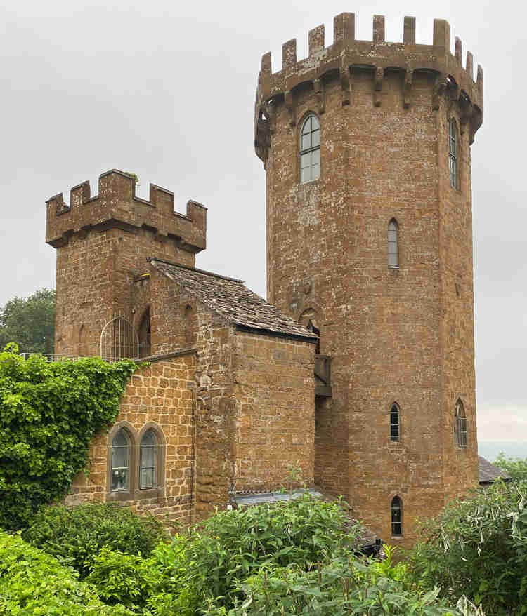 A castle, at Edgehill