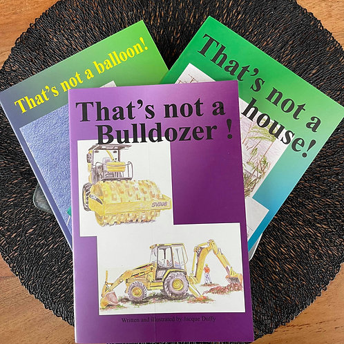 Set of 3 'That's not a...'