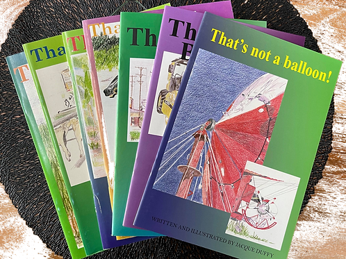Set of 7 'That's not a ...'