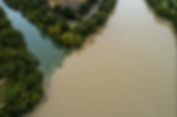 Barton Creek meets the dirty waters of the rain-swollen Lady Bird Lake 10/23/2018 [pc: Jay Janner / American-Statesman]