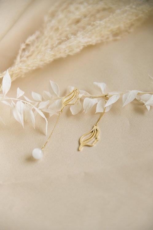 The Fair Maiden Earrings (S925)
