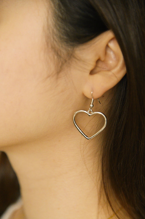 Amoris Earrings in silver