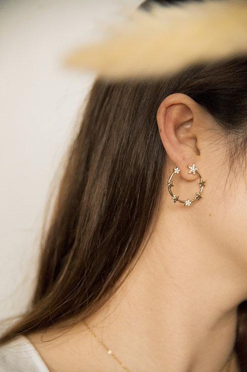 Soleil Star Earrings (S925)