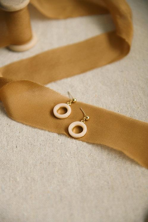 Quartz Earrings (S925)