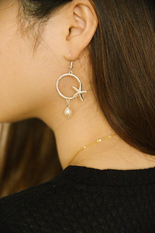 Maristela Earrings in silver