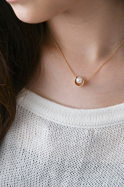 (BACK IN STOCK) Ula Necklace in gold