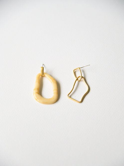 Nara Mismatched Earrings (S925)