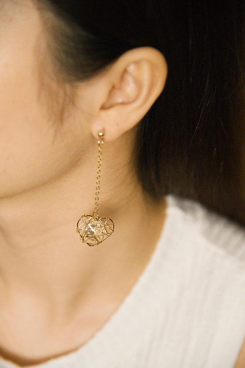 Dreamy Love Earrings (S925)