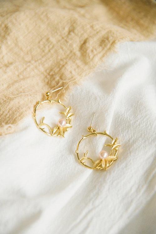 Quincy Hoop Earrings (S925)
