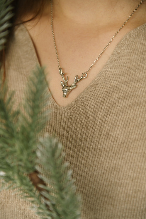 Clyde Necklace in silver