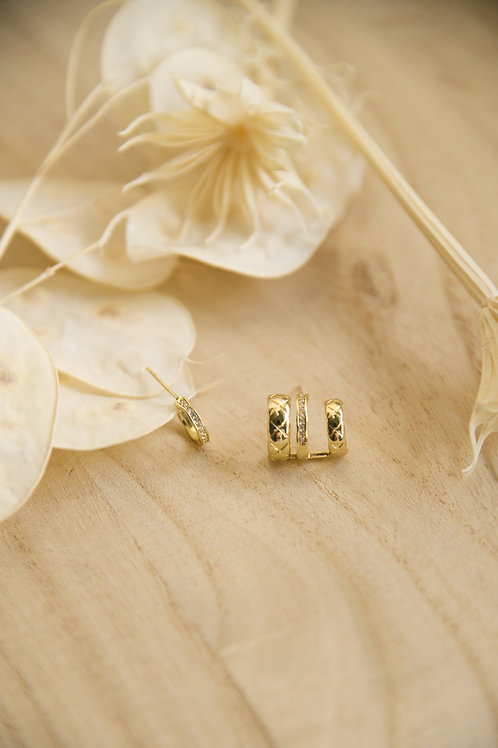 Nuria Mismatched Earrings (S925)