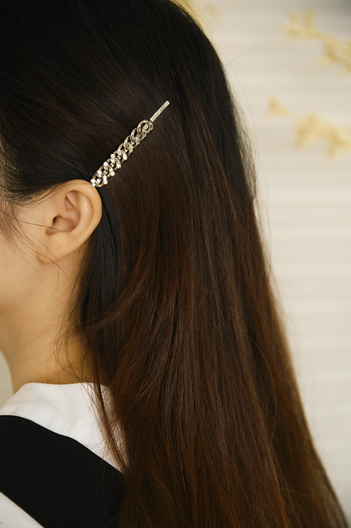 Nouvel Hairpin in silver