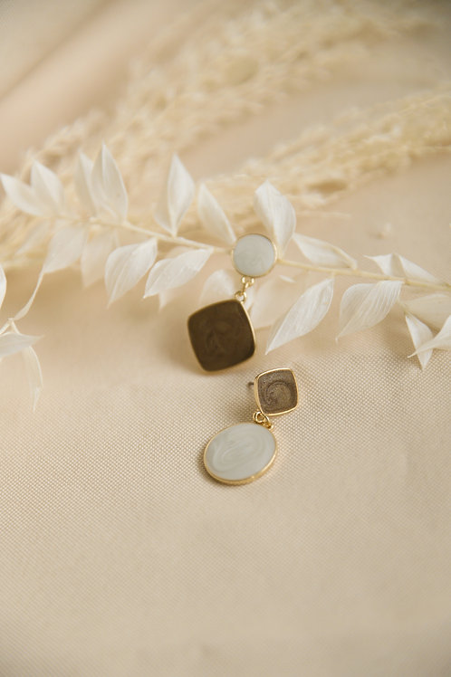 Cera Mismatched Earrings (S925)