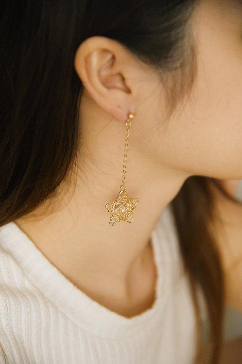 Dreamy Starry Earrings (S925)