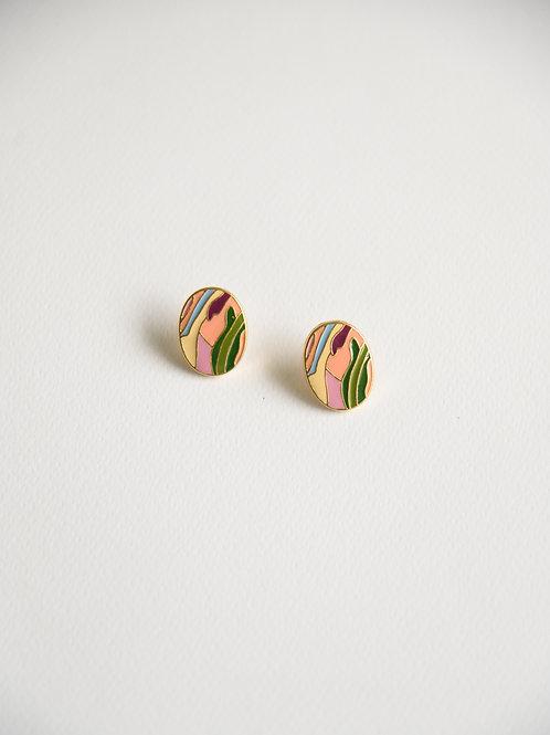The Kaleidoscopic Earrings (S925)