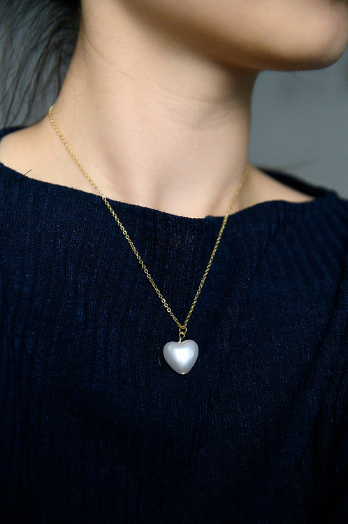 Carol Heart Necklace