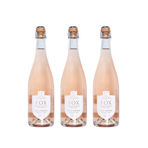 FOX Crémant ROSÉ (3 bottles)