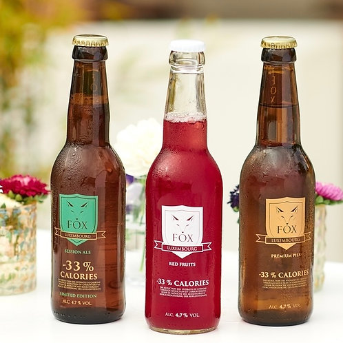 FOX Mixed Beer Box (24 bottles)