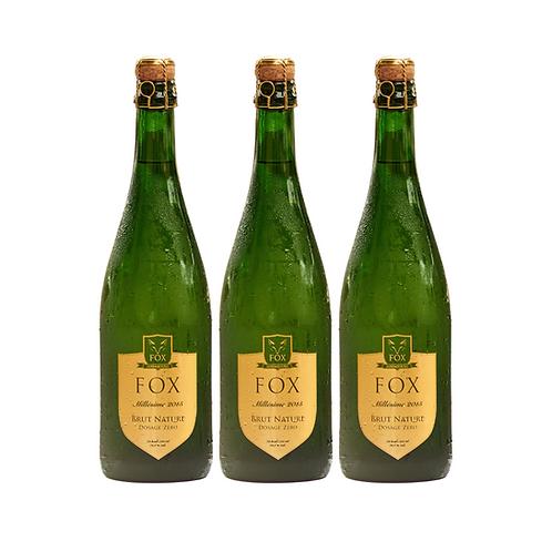 FOX Crémant Millésime 2015 (3 bottles)