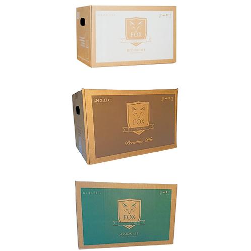 FOX Beer Package (3x24 bottles)