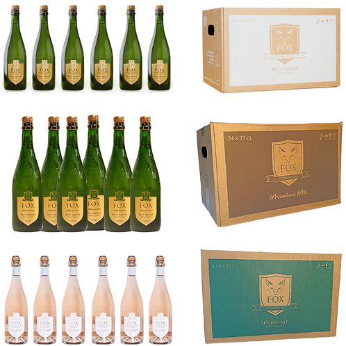 FOX Mixed Crémant & Beer Package