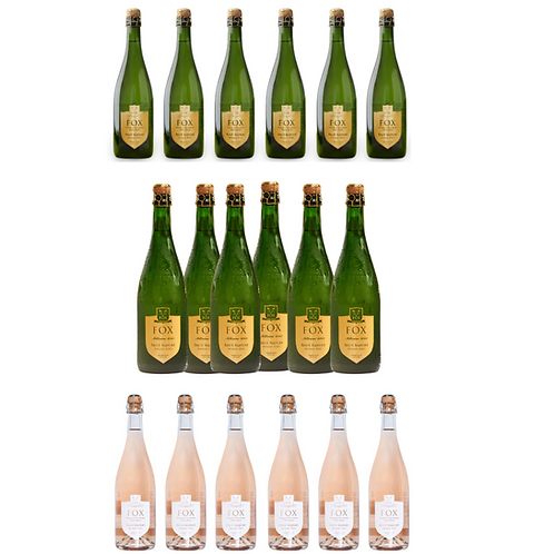 FOX Crémant Package (3x6 bottles)