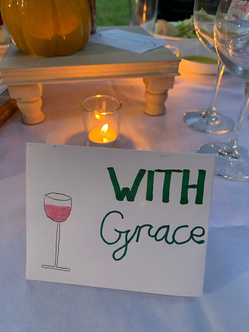 Continue to Swirl, Sip and Support WITH Grace!