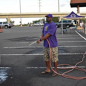 Purple Rain Car Wash