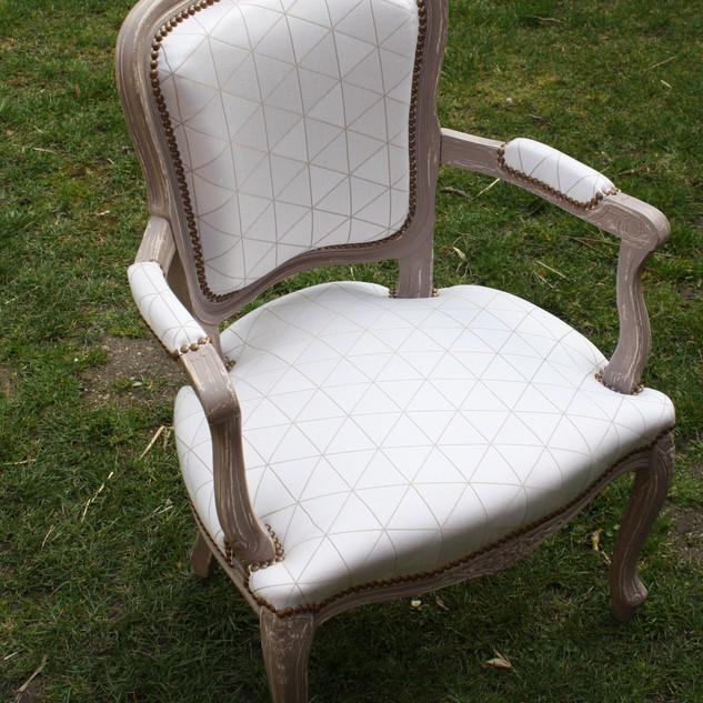 Petit fauteuil Louis XV