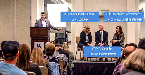 Bureau of Cannabis Control, CalCannabis CDPH, Cannabis Saftey Branch