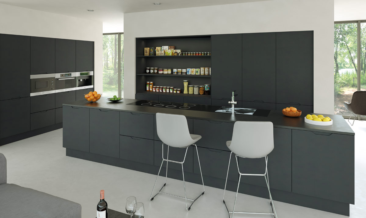 bella-integra-matt-graphite-kitchen