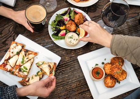 Happy Hour top down food & beer.jpg