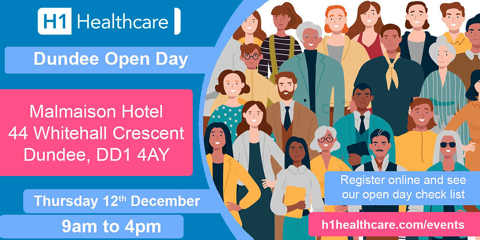 Dundee Open Day