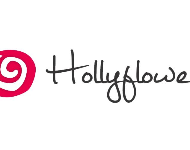 Hollyflower.com horizontal logo