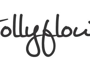Hollyflower Typo Logo.png
