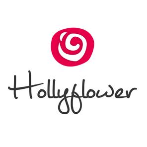 Hollyflower Square Logo