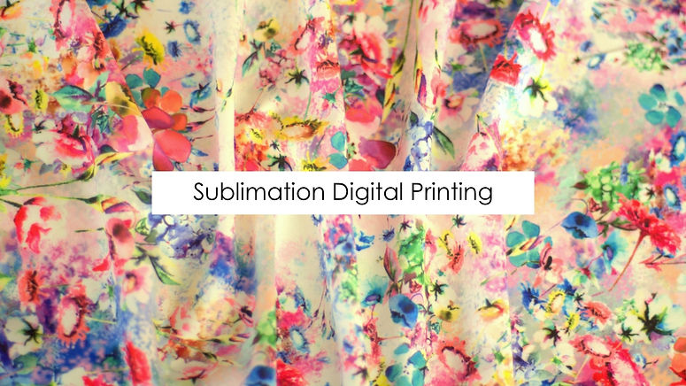 Sublimation Digial Printing on Polyester Fabric