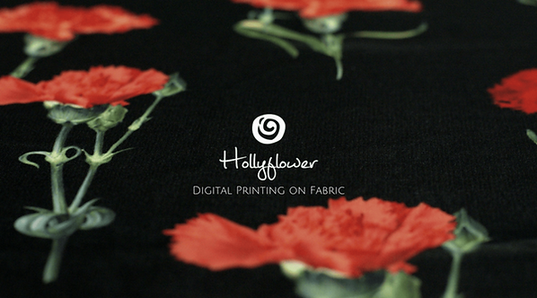 Hollyflower | Digital Printing on Cotton Fabric | Surat | India