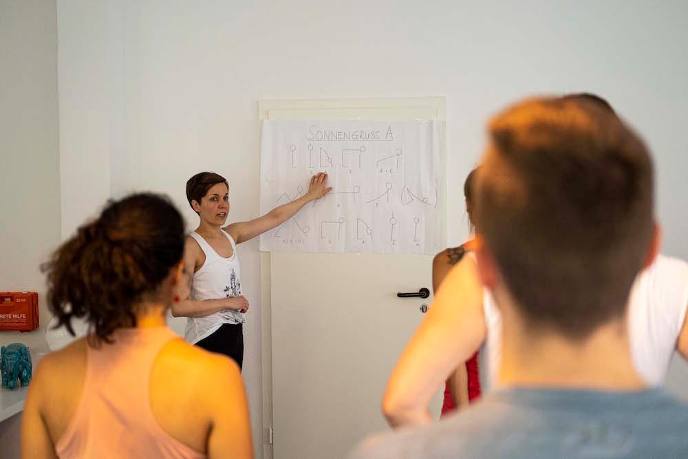 Wir bieten viele Workshops und Fortbildungen an