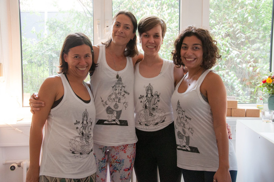 Sophia, Kathi, Maria und Simona
