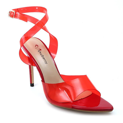 Shuberry SB-19026 Synthetic Red Heels For Women & Girls