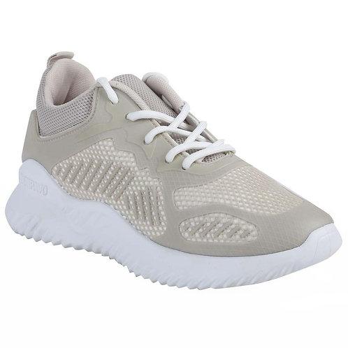 Shuberry SB-19069 Mesh Beige Running Shoe For Women & Girls