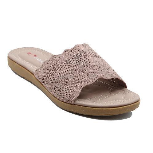 Shuberry SB-19055 Fabric Khaki Flats For Women & Girls